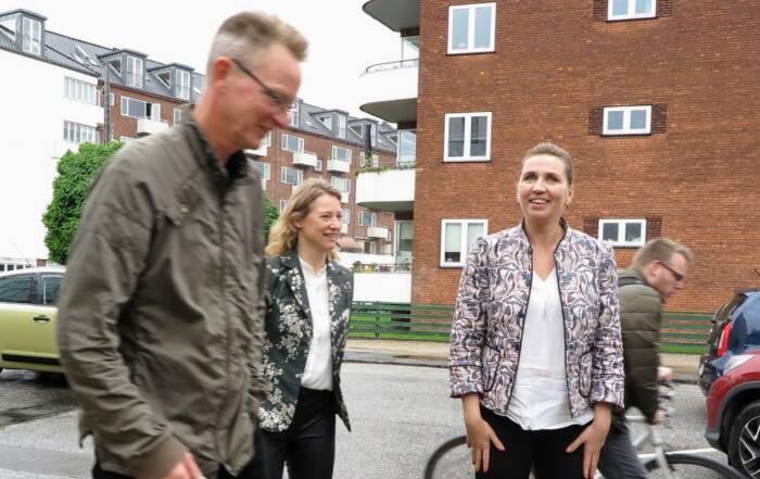 Statsminister Mette Frederiksen besøger Kofoeds Skoles Ungdomsbolig